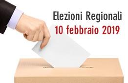 Elezioni regionali 10 febbraio 2019