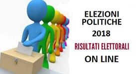 ELEZIONI POLITICHE 2018 - RISULTATI ELETTORALI ON LINE