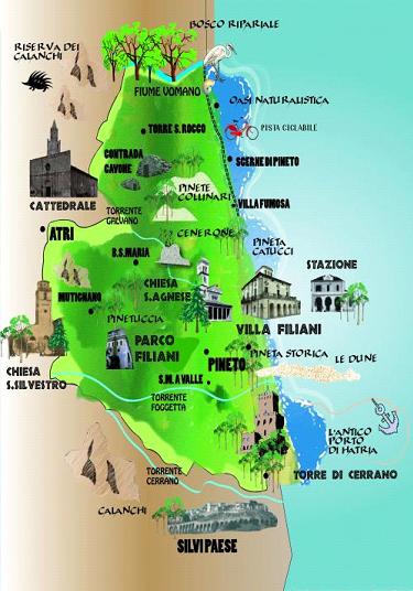 percorso storico naturalistico