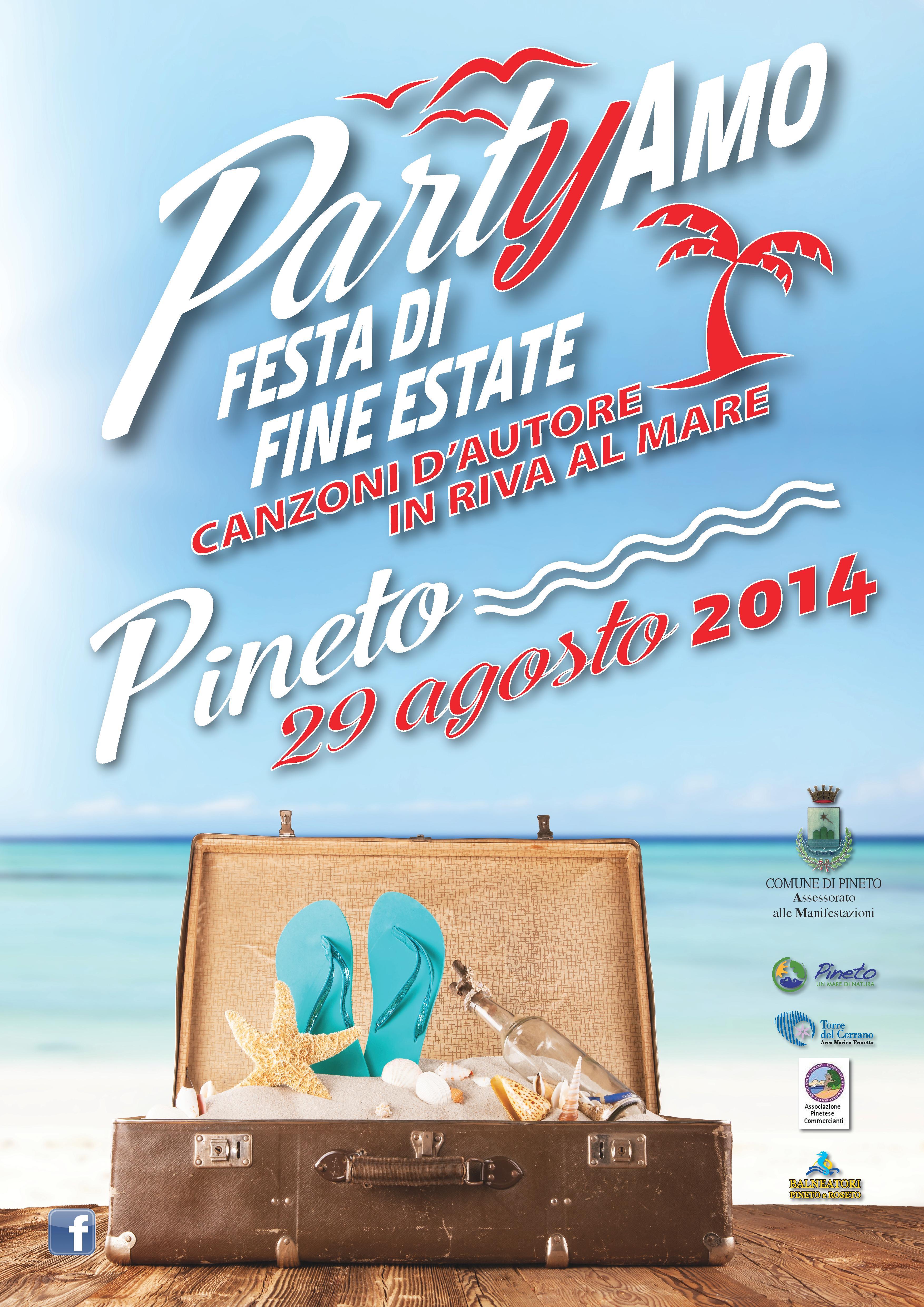 PARTYAMO - CANZONI D'AUTORE IN RIVA AL MARE