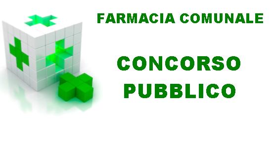 CONCORSO PUBBLICO FARMACISTA COLLABORATORE - DATA DELLA PROVA SCRITTA