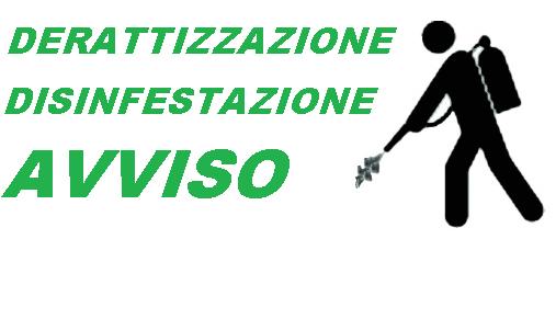 CALENDARIO DERATTIZZAZIONE E DISINFESTAZIONE - ANNO 2017