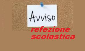 SERVIZIO MENSA SCOLASTICA ALUNNI SCUOLA DELL'INFANZIA A.S. 2016/2017 - AVVISO