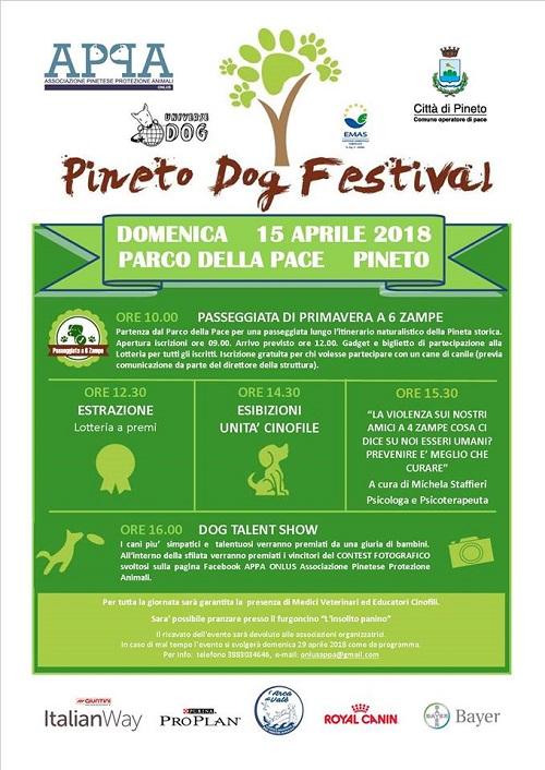 pineto dog festival 2018