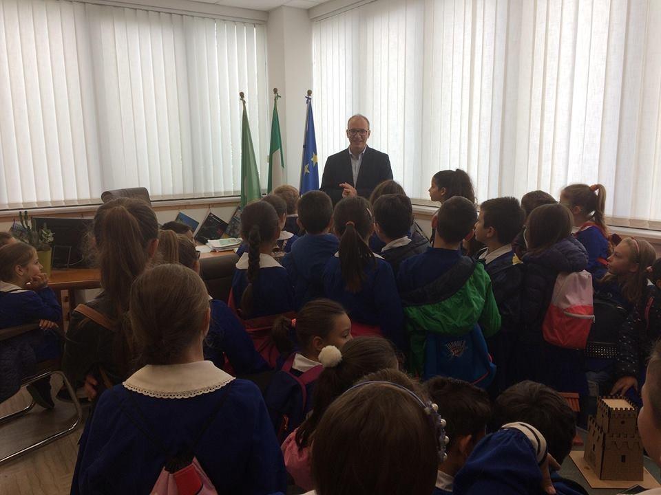 visita alunni municipio