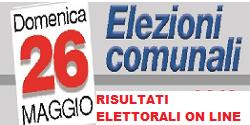 ELEZIONI COMUNALI  - RISULTATI ELEYTTORALI ON LINE