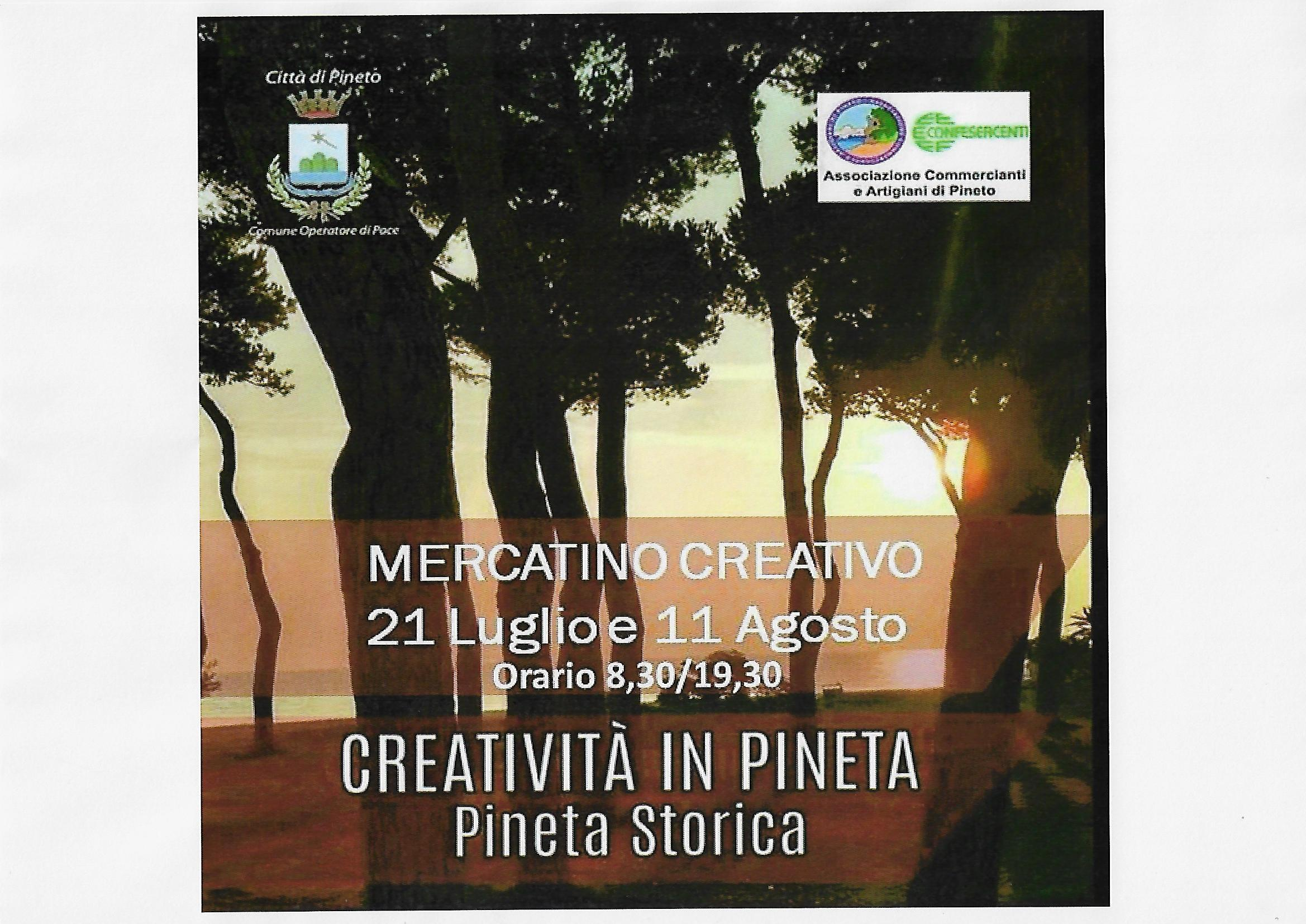 creativita\' in pineta