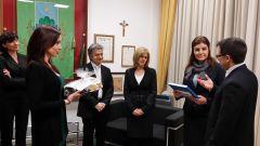 visita ambasciatrice dela repubblica di moldova