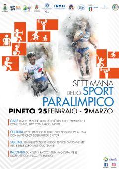 Locandina sport parolimpico