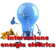 AVVISO DI INTERRUZIONE ENERGIA ELETTRICA