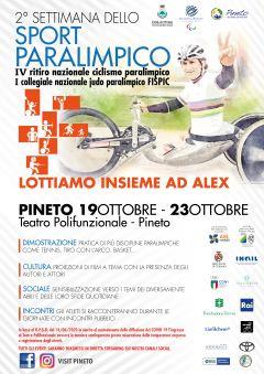 locandina corretta sport paralimpica